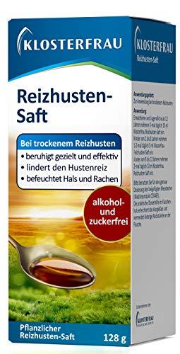 Klosterfrau Reizhustensaft / Natürlich lindernder & befeuchtender Hustensaft mit isländisch Moos gegen trockenen Reizhusten, 128 g