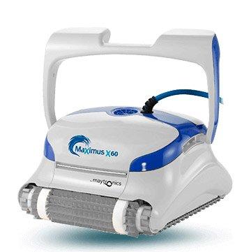 Dolphin MaXimus X60-Roboter Auto waschsaugern für Pools (Boden und Wände) Navigationssystem Preciso Clever Clean -