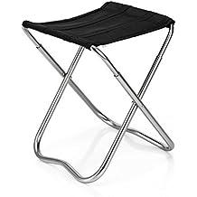 Al aire libre medianas Camping taburete de Pesca Ultra–Luz aleación de aluminio taburete plegable portátil plegable sillas