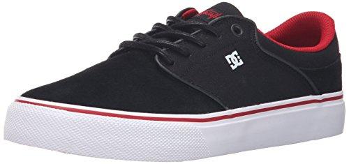 DC - - Herren Mikey Taylor Vulc Low Top Freizeitschuh Black/Red/Grey