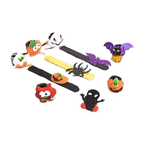 Zhuhaitf Soft Halloween Christmas Bracelet Multicolor Party Party Favours Supplies Decorations 8476873783531