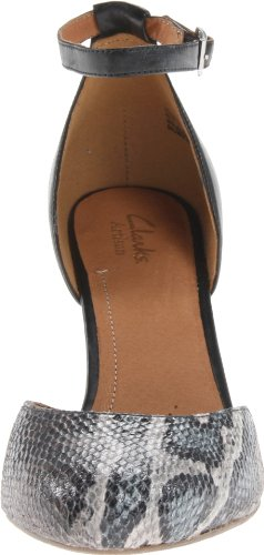 Pompa Clarks Purezza Hyline Wedge Black