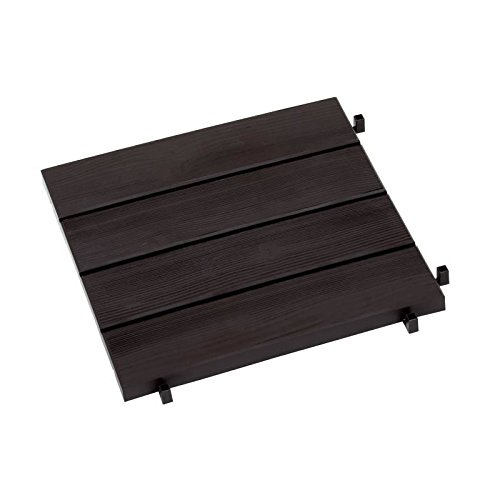 PROGARDEN – carrelage Résine Marron 384 x 384