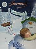 Thorntons Seasonal Snowman and Snow Dog Advent Calendar Chocolates, 93 g, Pack of 4