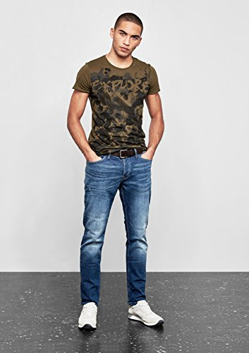 Q/S designed by - s.Oliver Herren Slim Jeans Blue Denim