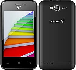 Videocon Infinium Zest Flame Android Smartphone - Black