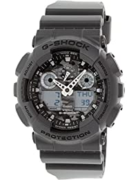 Casio G-Shock – Herren-Armbanduhr mit Analog/Digital-Display und Resin-Armband – GA-100CF-8AER