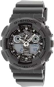 Casio G-Shock – Herren-Armbanduhr mit Analog/Digital-Display und Resin-Armband – GA-100CF-8AER