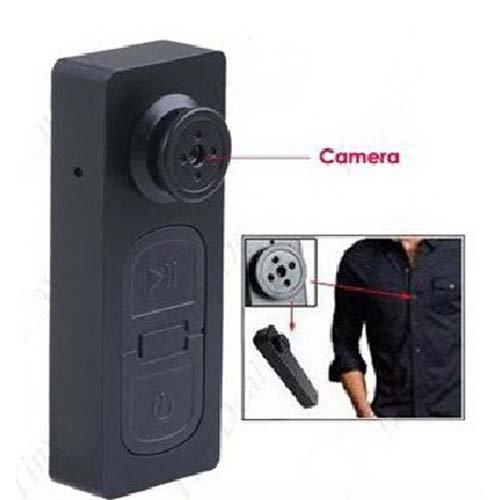 * Camara de video muy pequeña disimulada en un boton para tu camisa. * Graba video, haz fotografias o graba sonido con total comodidad sin llevar las manos ocupadas.  * Se coloca facilmente en tu ropa por su forma de boton.  * Utiliza una tarjeta de ...