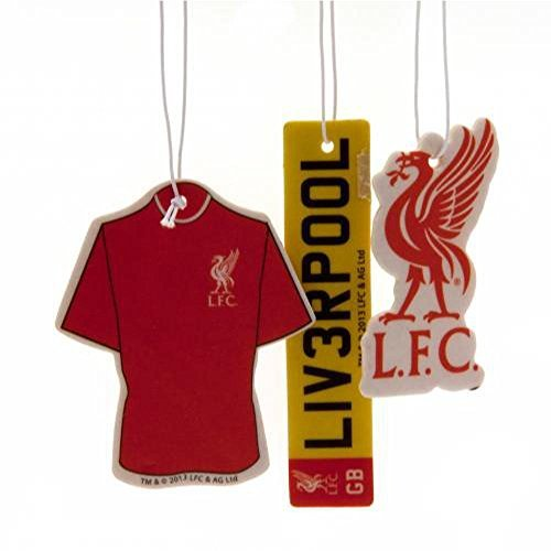 Preisvergleich Produktbild Offizielles Liverpool FC Auto-Lufterfrischer (3Pack)