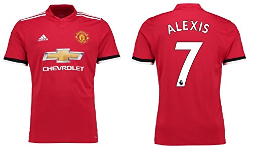 Trikot Herren Manchester United 2017-2018 Home - Alexis 7 (M) (Camiseta De Manchester United)