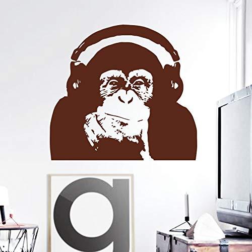 Applikation Kunst Design dekoration Vinyl Caesar affe musik Wandaufkleber Aufstieg des Planeten der Affen orang-utan raumdekor aufklebercm xcm