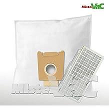 20  Staubsaugerbeutel 2 Motorschutzfilter passend für Bosch BSGL 51338