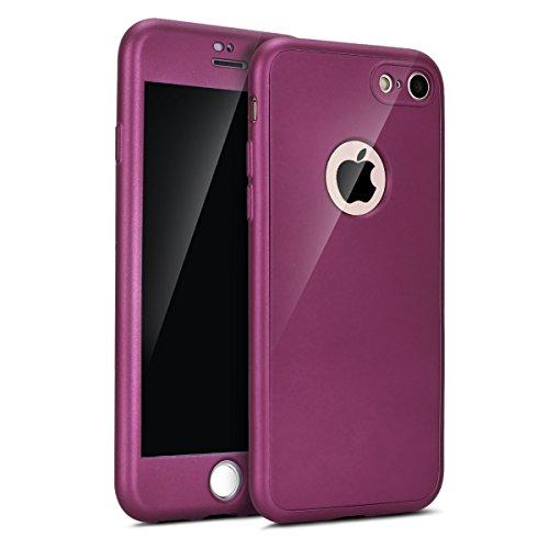 Funda iPhone 7,iPhone 8 Carcasa Funda Caso 360 Grados
