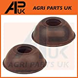 APUK 2 x Track Rod End Rubber Boots Dust Protectors Compatible with Massey Ferguson 50 65 765 Tractor