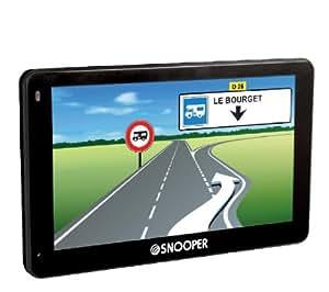 GPS Truckmate PL8200 Europa + Doppelstecker für Zigarettenanzünder + Etui CARBON - Größe L