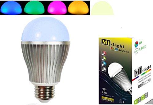 Erweiterung 1x E27 9W RGB+Warm Weiss ALLES original Mi-Light 2,4G MILIGHT®