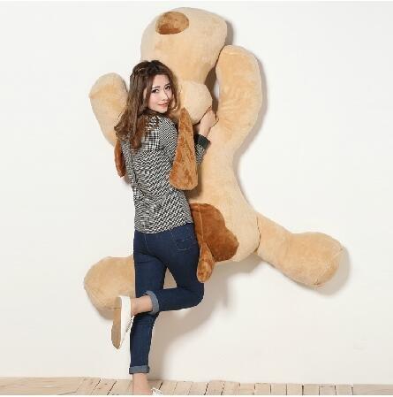 DIS XXL 150cm Riesen Sweety Plüschhund Toy Kuschelhund Teddybär Plüschtier Super big dog Plüschbär