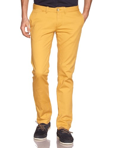 Freesoul - P71252, Pantalone da uomo rosso(Rot (SUGHIRO))