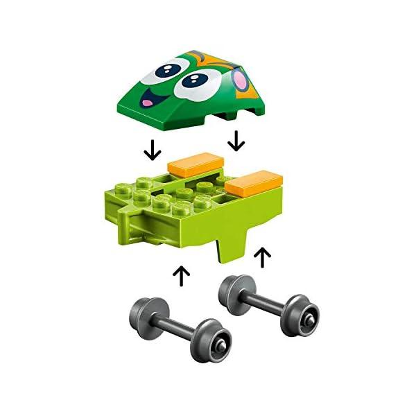 LEGO Juniors Ottovolante Carnevalesco, Gioco per Bambini, Multicolore, 262 x 191x 46 mm, 10771 4 spesavip