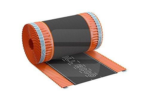 Closoir de faîtage souple ventilé en aluminium ROLL ECCO 310 mmx5Ml