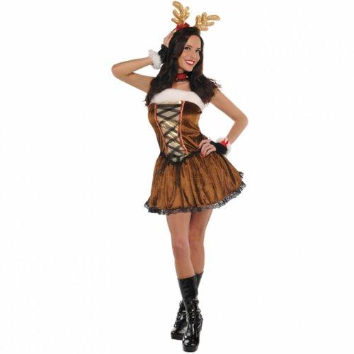 Kostüm Rentier - Weibliches Rentier Kostüm