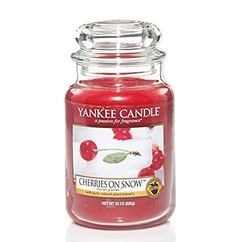 Bougie en pot Yankee Candle Bougie parfumée Cerises sur la