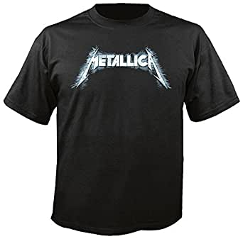METALLICA - Sliced Logo - T-Shirt Größe M
