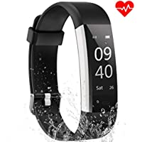 Aneken Fitness Tracker Watch Activity Tracker Heart Rate Monitor Waterproof IP67 Sleep Monitor Gym Wristband Pedometer for Women Kids and Men SMS SNS Facebook Twitter Skype Vibrating Reminder