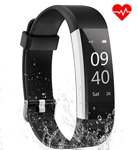 Aneken Fitness Tracker Watch Activity Tracker Heart Rate Monitor Waterproof IP67 Sleep...