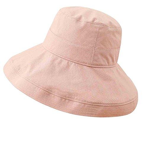 Hat Ladies UV Sun Hat Foldable Wide Brim Floppy Summer Beach Hat