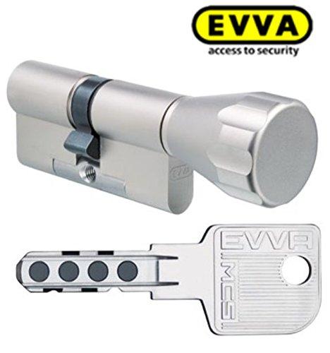 4 - Cerradura antibumping EVVA MCS de doble cilindro