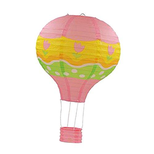 Unbekannt 12 Zoll Heißluftballon Papierlaterne Lampenschirm Hochzeitsdeko Party Ornament - # 7