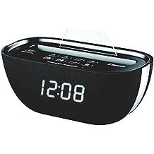 S-Digital Q-17/BK - Radio despertador, color negro