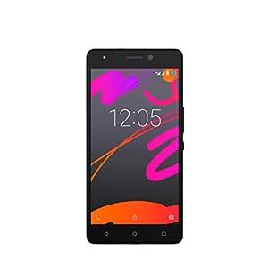 BQ Aquaris M5.5 FHD Smartphone débloqué 4G (Ecran: 5,5 pouces - 16 Go + 2 Go - Double SIM - Android 5.1 Lollipop) Noir