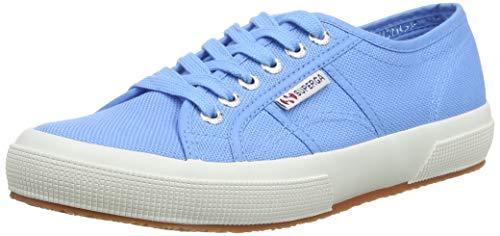 Superga Unisex-Erwachsene Classic Sneaker Low-Top 2750 Cotu Classic, Blau (Azure Blue 00T), 38 (Herstellergröße: 5)