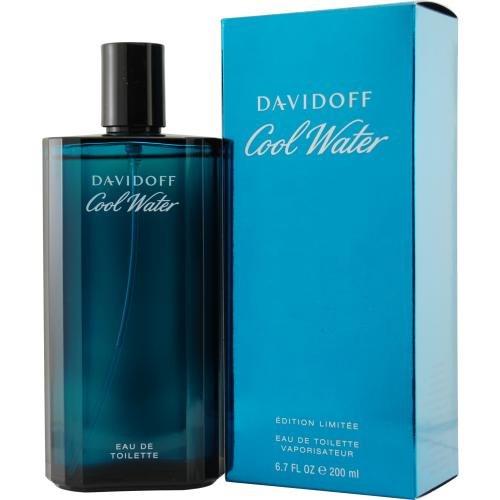 Cool Water By Davidoff Eau De Toilette uomo Spray, 6,7 g
