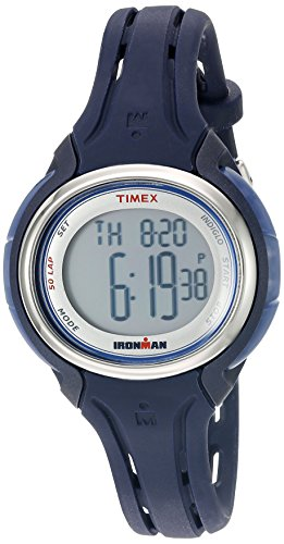 Timex Ironman Sleek 50 Mid-Size Watch - Navy (Timex Uhren Ironman)