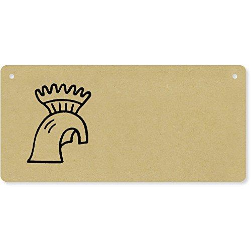 Helm' Holzwand Plakette / Türschild (DP00026883) ()