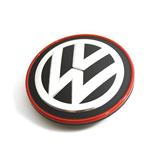1 stück Nabendeckel chrom / rot VW Golf 7 VII Original Volkswagen