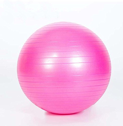 Nlne Anti-Burst & Anti-Slip Gymnastikball, Yoga Ball, 55Cm/65Cm/75Cm/85Cm Geburtsball, Extra Dicker Heavy Duty Ball Stuhl,Pink