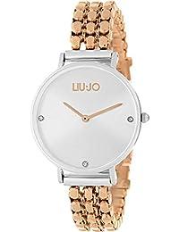 Liu Jo Luxury Ladies Silver and Rose Framework Watch bb7ab09c990