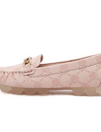ZQ Scarpe Donna - Ballerine - Ufficio e lavoro / Casual / Serata e festa - Ballerina / Barca - Piatto - Sintetico / Tulle - Rosa , pink-us9.5-10 / eu41 / uk7.5-8 / cn42 , pink-us9.5-10 / eu41 / uk7.5- pink-us9 / eu40 / uk7 / cn41