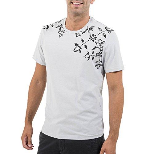Oxbow k1terzo terzo tee shirt maniche corte uomo, uomo, k1terzo, grigio perla, xl