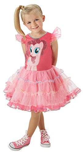 Rubies 3620098 - MLP Pinkie Pie Deluxe - Child, Action Dress (Pie Pinkie Kleid)