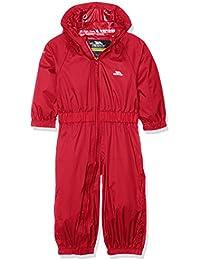 Trespass Children's Unisex Button Rain Suit