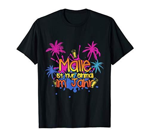 Malle Strandurlaub T-Shirt 2019 Good Vibes SONNE !!!
