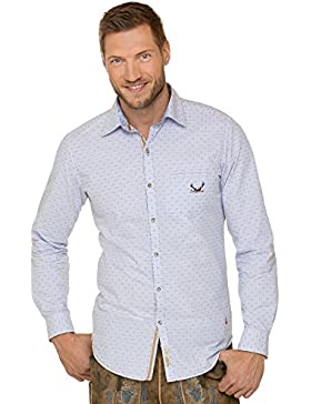 Stockerpoint Trachtenhemd Jesse Retro Blue