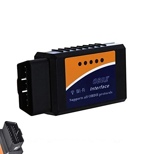 Strumento di scansione diagnostico per auto WIFI OBDII Golvery, Mini adattatore per scanner OBD 2 WiFi, lettore di codici diagnostici diagnostico per la maggior parte dei veicoli, supporto iOS, Window