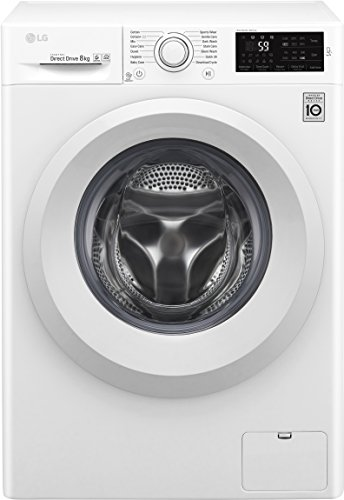 LG F4J5TN3W A+++ Rated Freestanding Washing Machine - White
